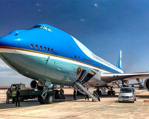 servicio al avion